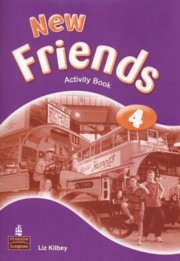 New Friends 4 Activity Book, Kilbey Liz