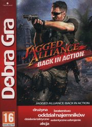 Dobra Gra Jagged Alliance Black in Action,