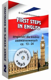 First Steps in English 2 +6CD+MP3, Krzyżanowski Henryk