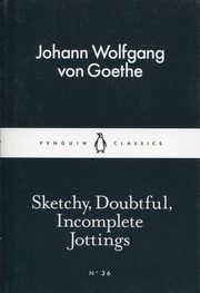 Sketchy Doubtful Incomplete Jottings, Goethe Johann Wolfgang